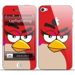 Наклейка на телефон Angry Birds