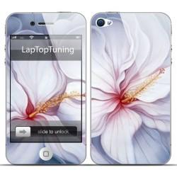 Наклейка на телефон красивый цветок