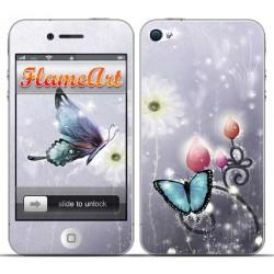 Наклейка на телефон бабочки