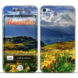 Наклейка на телефон красивый пейзаж
