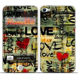 Наклейка на телефон Love
