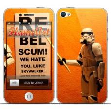 Наклейка на телефон военные из звездных войн