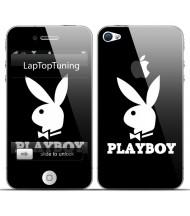 Наклейка на телефон Playboy