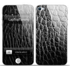 Наклейка на телефон кожа