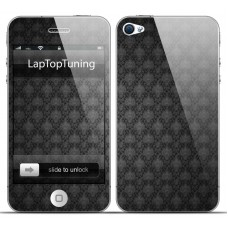 Наклейка на телефон гранжевая текстура
