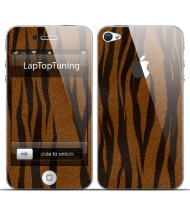 Наклейка на телефон гепард